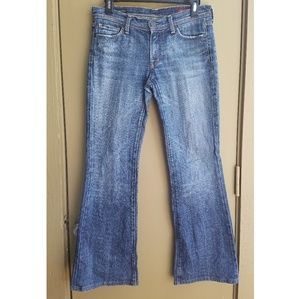 Citizens of Humanity Low Waist Flair Jeans